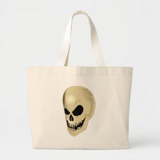 grinning skull bags