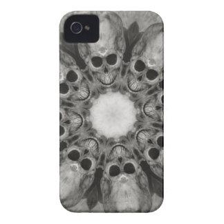 Grinning Skulls Gathering blackberry case