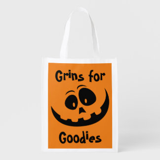 Grins for Goodies Halloween Treat