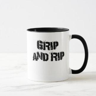 Grip & Rip Armwrestling Mug