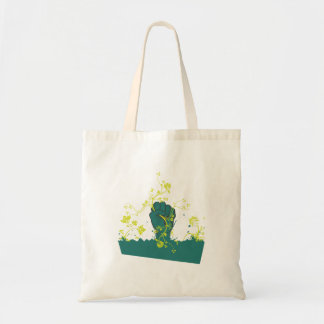 gripping nature vector budget tote bag