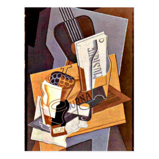 Gris - Book of Music Postcard