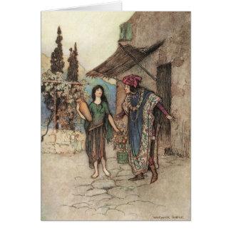 Griselda and the Duke, Card