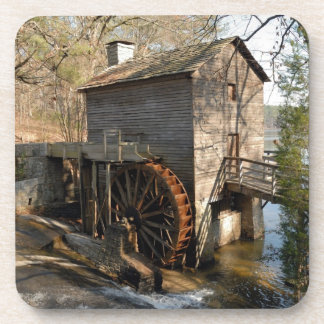 Grist Mill at Stone Mountian Georiga Beverage Coasters