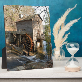 Grist Mill at Stone Mountian Georiga Display Plaques