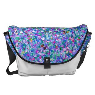 Grit Glitter Fashion Multicolor Painting #4 Commuter Bags