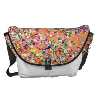 Grit Glitter Fashion Multicolor Painting #8 Commuter Bags