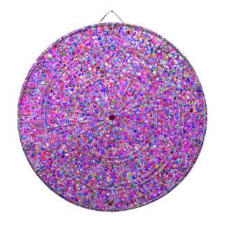 Grit Glitter Fashion Multicolor Painting Dartboard