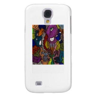 Gritty Alein Puzzle Samsung Galaxy S4 Case