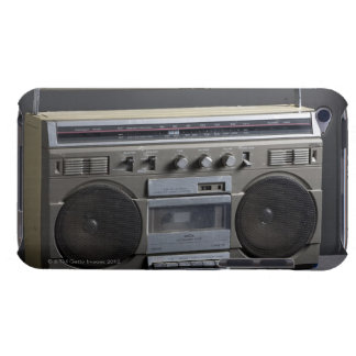 Gritty Boom Box Barely There iPod Cases