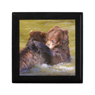 Grizzlies in the water gift box