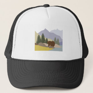 Grizzly Alaska Trucker Hat