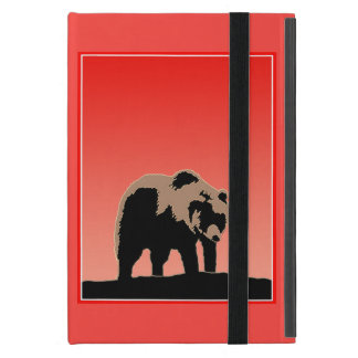 Grizzly Bear at Sunset Cover For iPad Mini