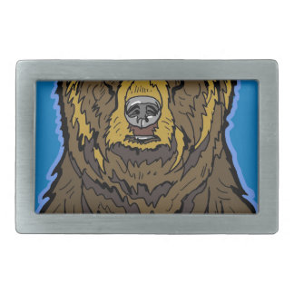 Grizzly Bear Belt Buckles