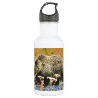 Grizzly Bear Cub 532 Ml Water Bottle