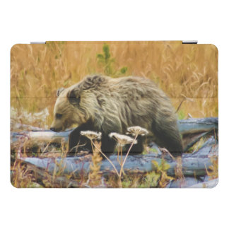 Grizzly Bear Cub iPad Pro Cover