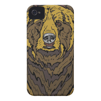 Grizzly Bear iPhone 4 Case