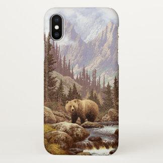 Grizzly Bear Landscape Zazzle iPhone X Case