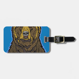 Grizzly Bear Luggage Tag