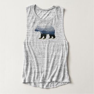 Grizzly Bear | Mountians | Womens Tank Top