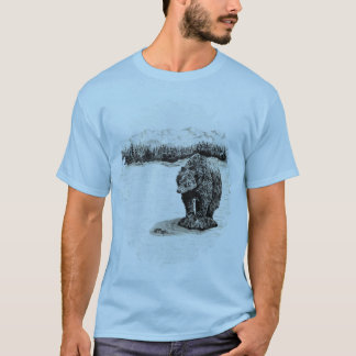 Grizzly Bear on rock T-Shirt