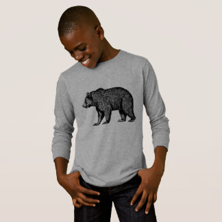 Grizzly Bear Out For A Walk T-Shirt