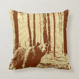 Grizzly Bear Pillows