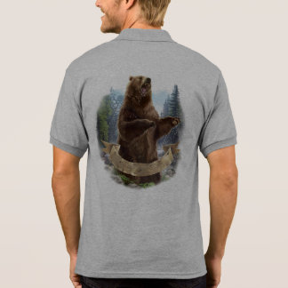 Grizzly Bear Polo Shirt