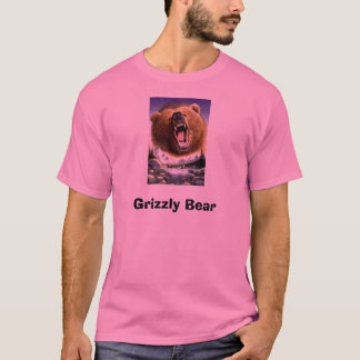 Grizzly-Bear-Poster-C10033289, Grizzly Bear T-Shirt