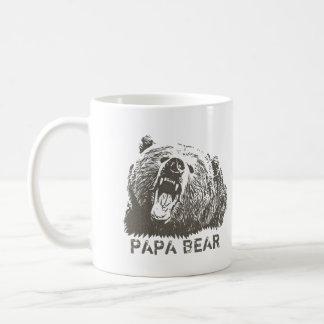 Grizzly Bear Roar Papa Bear Coffee Mug