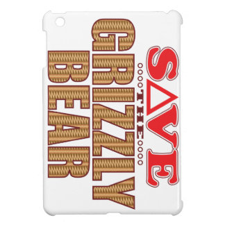Grizzly Bear Save iPad Mini Cover