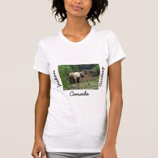 Grizzly Bear Smile; Yukon Territory, Canada T-Shirt