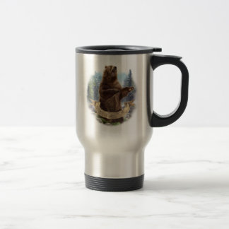 Grizzly Bear Travel Mug