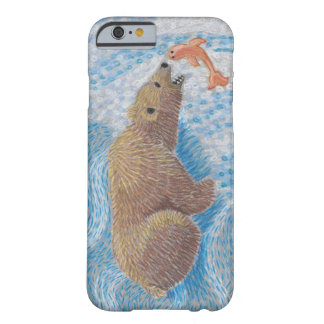 Grizzly Bear Waterfall Barely There iPhone 6 Case