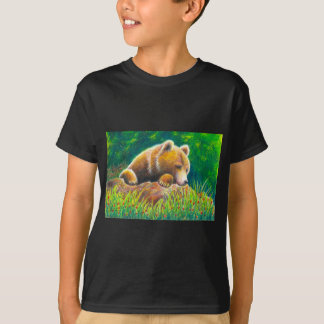 Grizzly Bear wildlife art T-Shirt