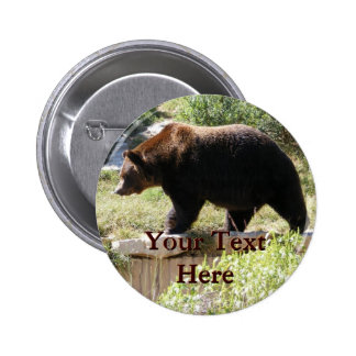 Grizzly Button