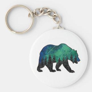 Grizzly Domain Key Ring