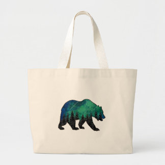 Grizzly Domain Large Tote Bag