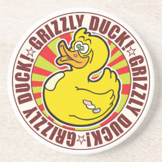 Grizzly Duck Drink Coaster