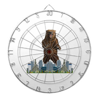 Grizzly Launch Dartboard
