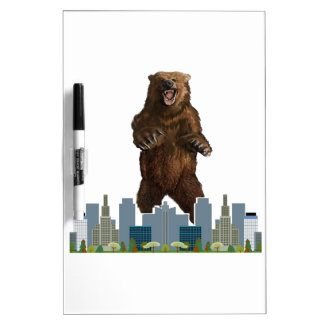 Grizzly Launch Dry Erase Board