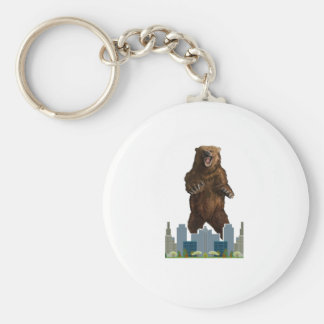 Grizzly Launch Key Ring