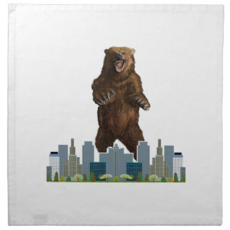 Grizzly Launch Napkin