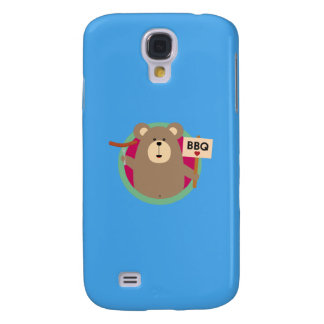 Grizzly Love BBQ Sausage Q1Q Galaxy S4 Cases