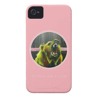 Grizzly Pink iPhone 4 Covers