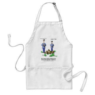 Grizzly Romaines Bear/Lettuce Cartoon Gifts & Tees Standard Apron