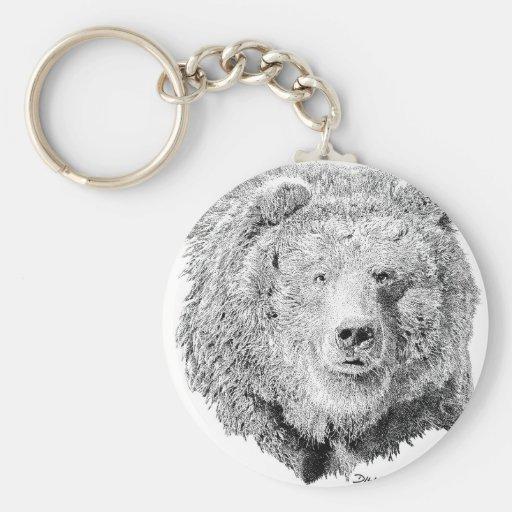 Grizzy Bear Key Chains