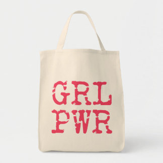GRLPWR (girlpower) Grocery Tote