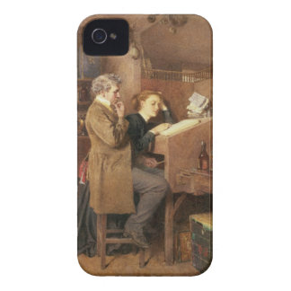 Grocer and wife, 1868 iPhone 4 Case-Mate cases