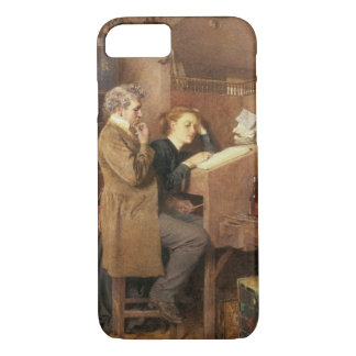 Grocer and wife, 1868 iPhone 7 case